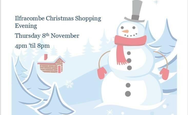 Ilfracombe Christmas Shopping Night