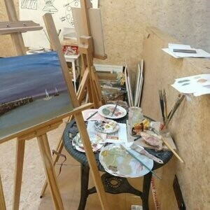 oil painting with wine workshop