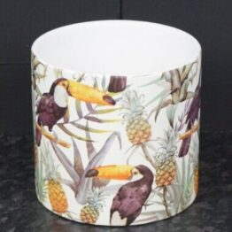 Toucan Tropical Plant Pot