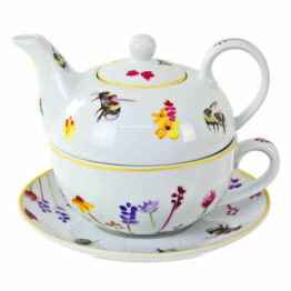 Bees Teapot One Cup