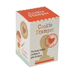Made with love cookie stamper