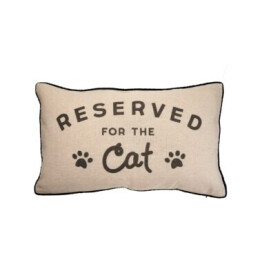 Reserved for the Cat Cushion