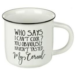 Who says I cant cook mug