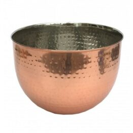 Large Copper Mixing Bowl