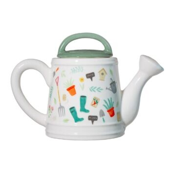 Leafy Watering Can Teapot