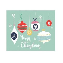 Pack of 6 Merry Christmas Cards