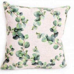 Pink Green Euculptus Cushion