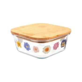 Small Pressed Flowers Storage Box