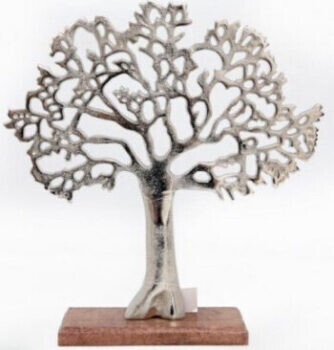Silver Tree of Life Ornament